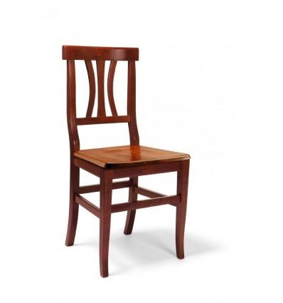 2 Sedie Classiche sedile legno Sedie Cucina Sala Soggiorno W594 ...