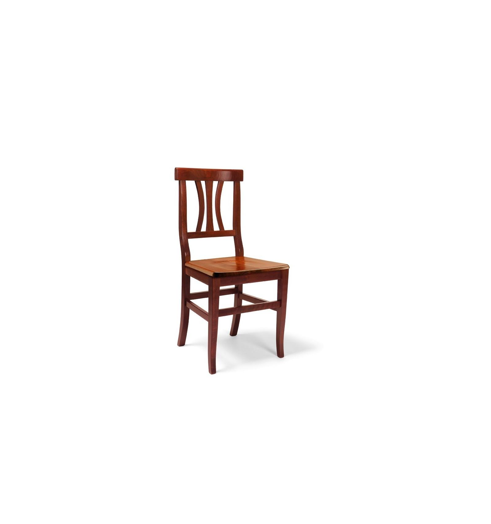2 sedie classiche sedile legno sedie cucina sala soggiorno for Sedie in legno per soggiorno