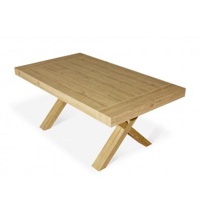 tavolo rovere consumato allungabile ART. W654/MR - Lo Scrigno ...