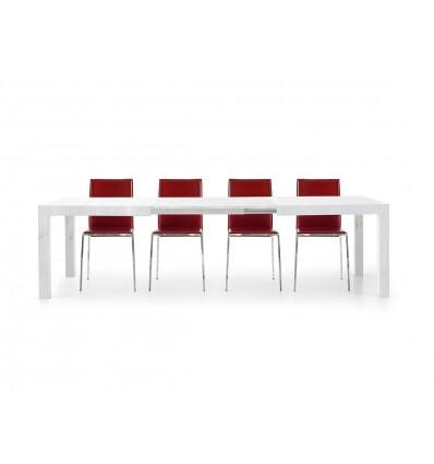 tavolo bianco frassinato allungabile ART. W657/MFL
