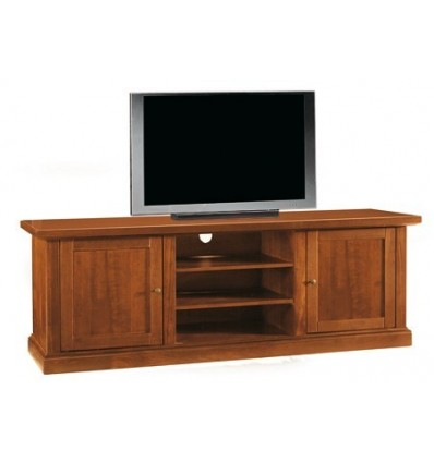 Base porta TV Classica 2 porte tinta noce W365/N - Lo Scrigno ...