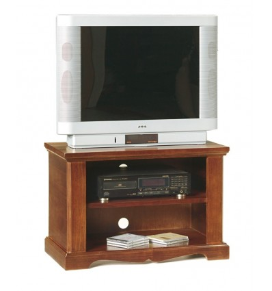 Porta Tv Classico Noce.Base Porta Tv Classico 2 Vani Tinta Noce W397 N
