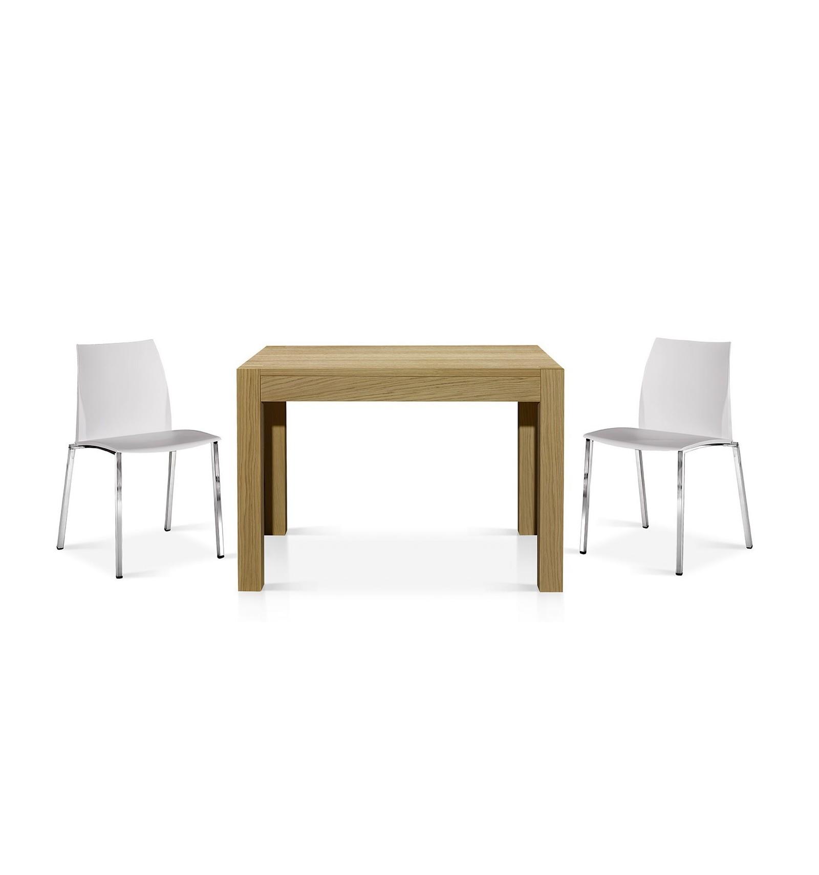 tavolo rovere naturale allungabile ART. W689/MR - Lo Scrigno Arredamenti