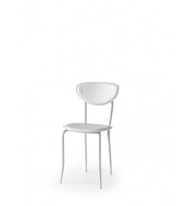 Set 6 sedie ecopelle bianco ART. W679/M