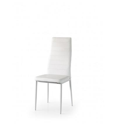 Set 6 sedie poltroncine ecopelle bianco ART. W683/M
