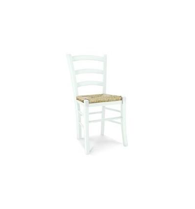 Sedia Venezia Classica 2 pezzi sedile in paglia Soggiorno W1007/L/bis