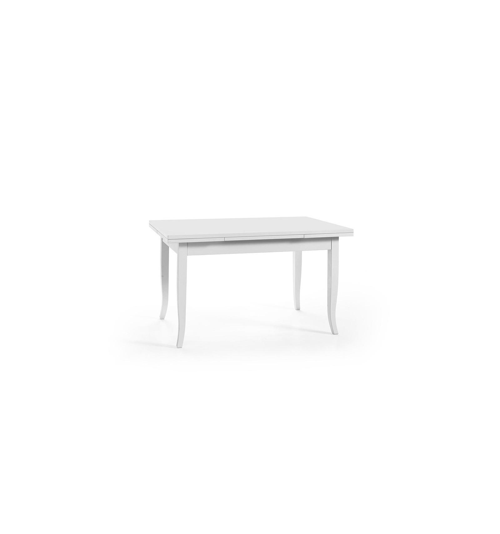 Tavolo Rettangolare Allungabile Quadrato.Tavolo Quadrato Allungabile Classico 100 100 W6043 Za Lo Scrigno