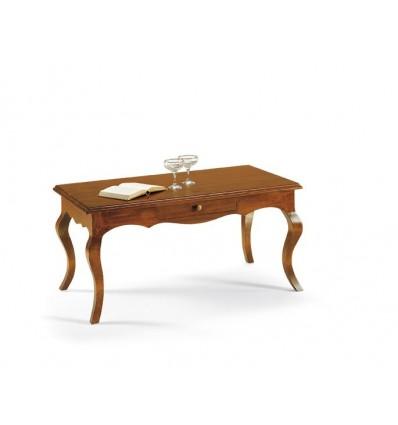 Tavolino Rettangolare Da Salotto Classico Sagomato W549 N Lo Scrigno Arredamenti