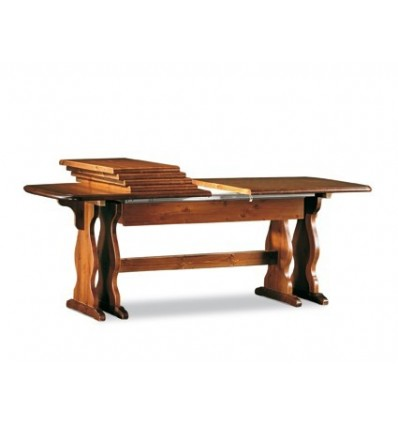 Tavolo rettangolare allungabile Classico 190-370 WTP