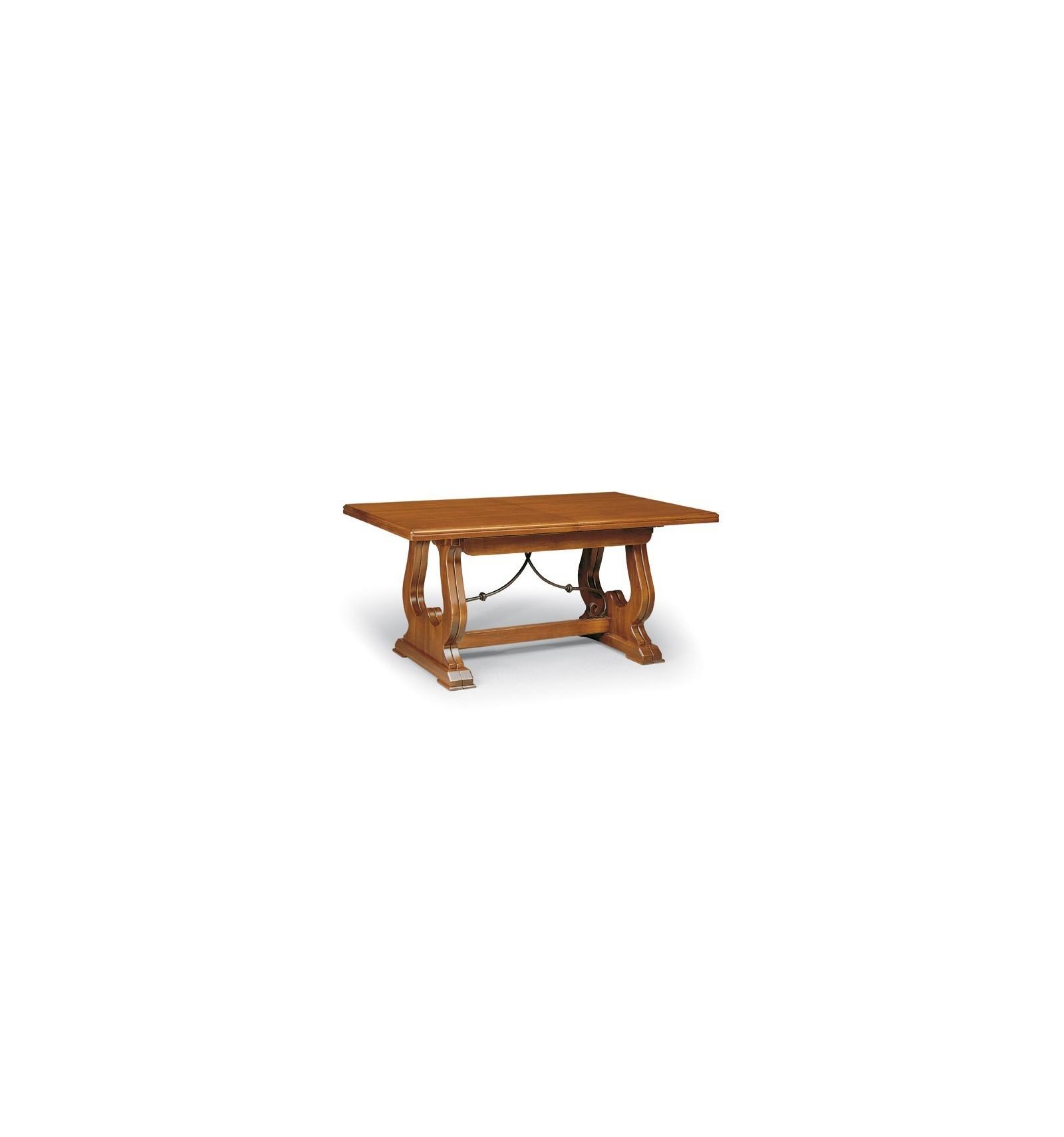 Tavoli Soggiorno Allungabili Classici.Tavolo Rettangolare Allungabile Classico 180 360 W102 Nb Lo