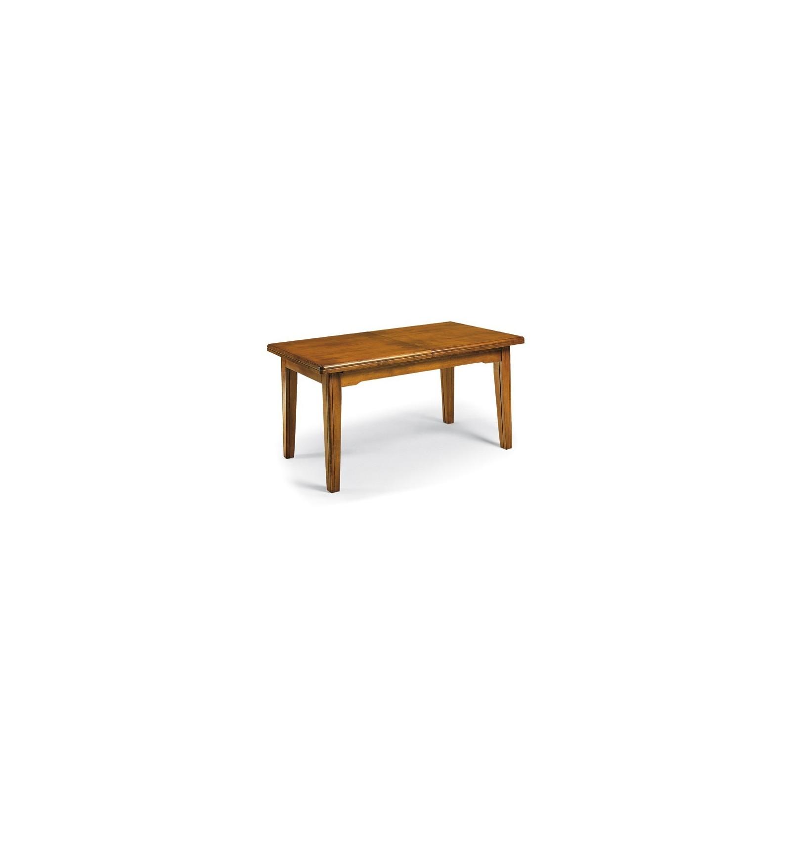 Tavolo Rettangolare Allungabile Classico Noce 180 360 W67 Nb Lo Scrigno Arredamenti