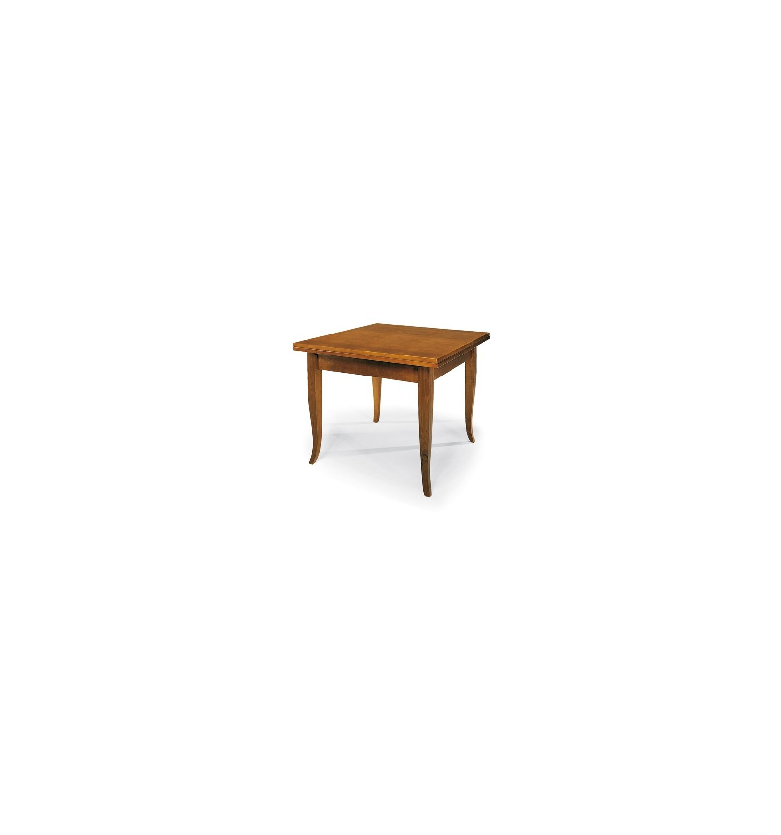Tavolo Quadrato Allungabile Libro.Tavolo Quadrato Allungabile A Libro Classico 100 200 W140 Nc Lo