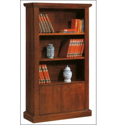 Libreria arte povera 2 porte e vani a giorno W183NS