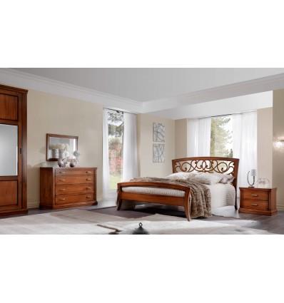 W290AURORA camera da letto prestigiosa solo massello