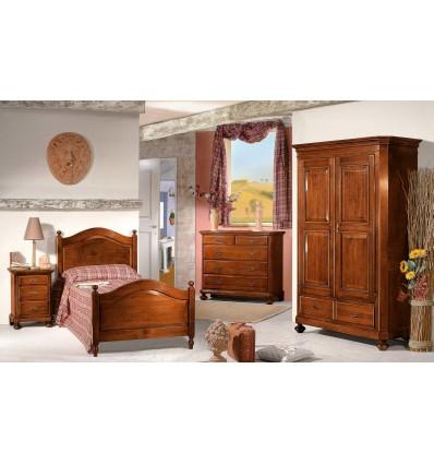 W255ALICE camera da letto prestigiosa solo massello