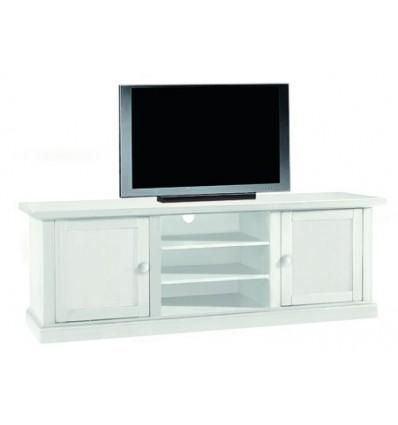 Base porta TV Classica 2 porte 3 vani laccato bianco W1365/L - Lo ...