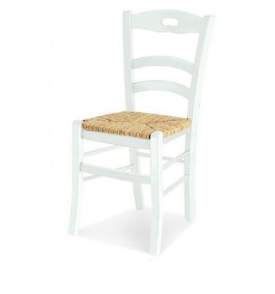 Sedia classica sedile in paglia sedie cucina sala for Sedie per cucina classica