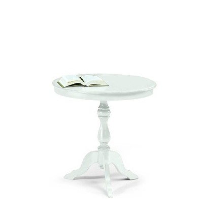 Tavolino rotondo da salotto Classico W1013/L - Lo Scrigno Arredamenti