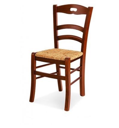 Sedia Classica sedile in paglia Sedie Cucina Sala Soggiorno W589/NP