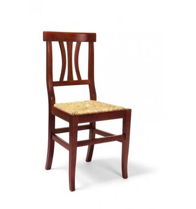 Sedia in legno Classica Sedie Cucina Sala Soggiorno W595/NP (Kit ...