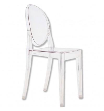 Set 4 sedie moderne trasparenti sedia cucina sala for Sedie soggiorno moderne