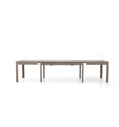 Tavolo rettangolare allungabile rovere grigio 160-332 W560/M