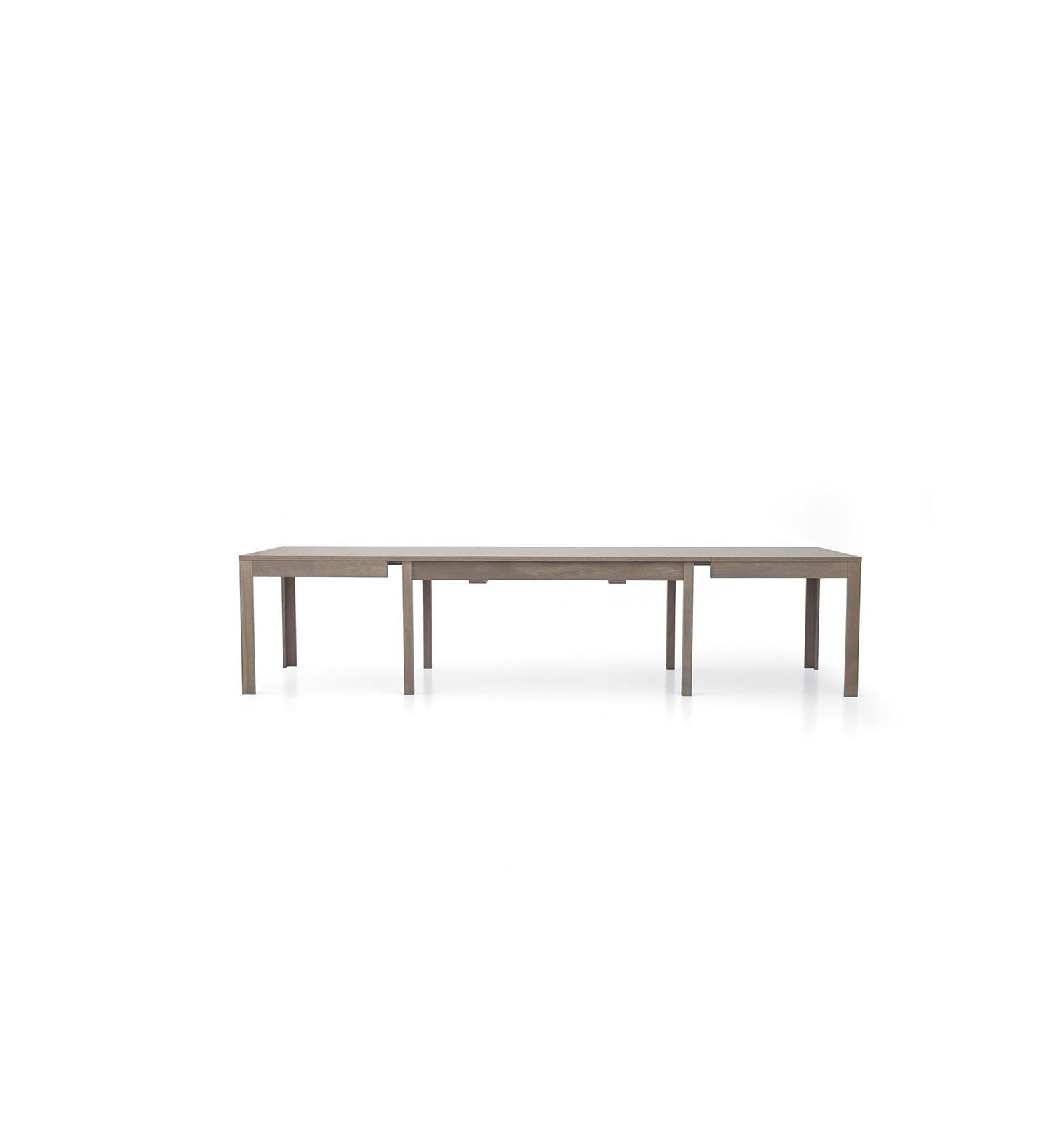 Tavolo rettangolare allungabile rovere grigio 160-332 W560/M - Lo ...