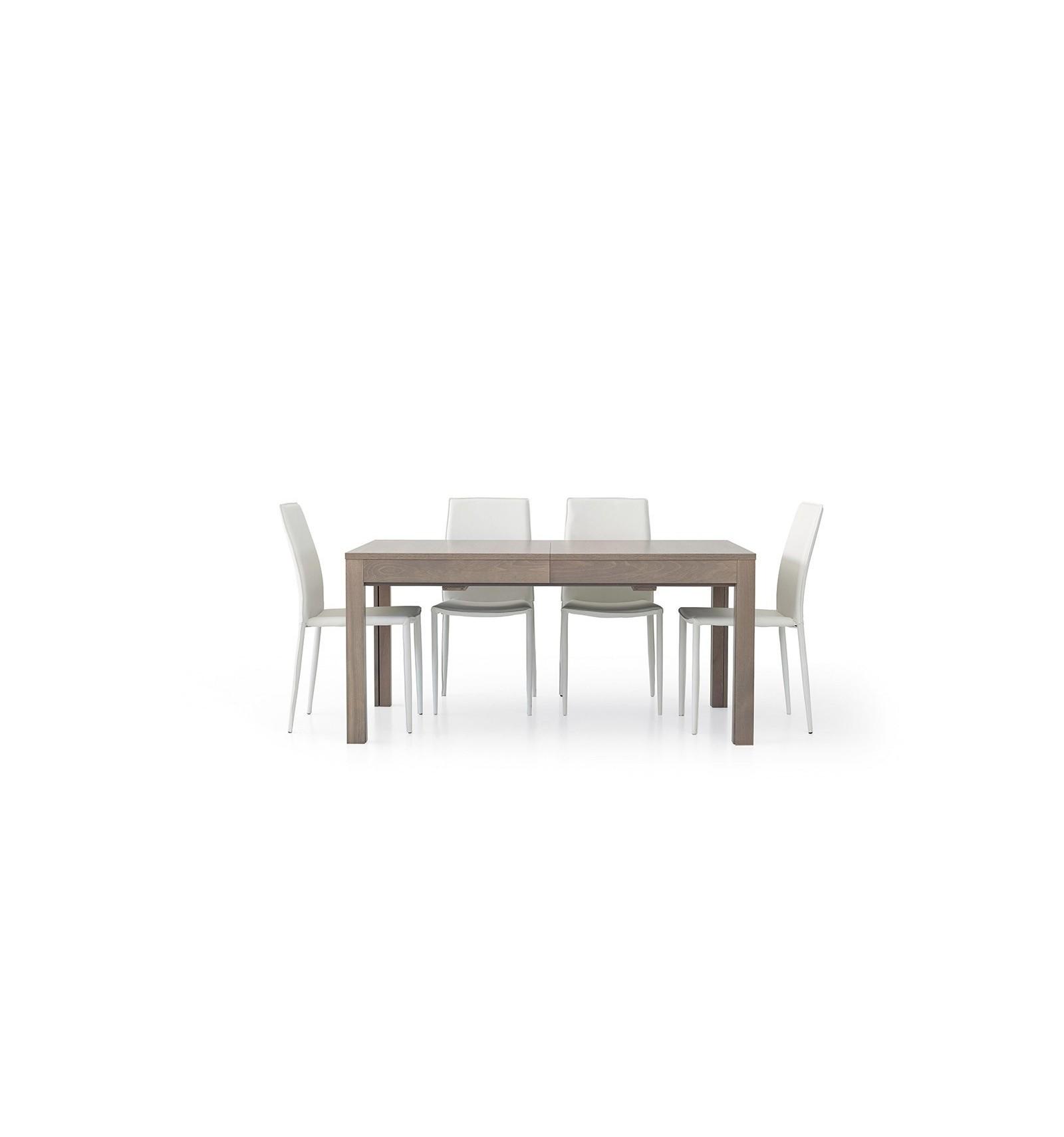 Tavolo rettangolare allungabile rovere wengé 160-332 W561/M - Lo ...