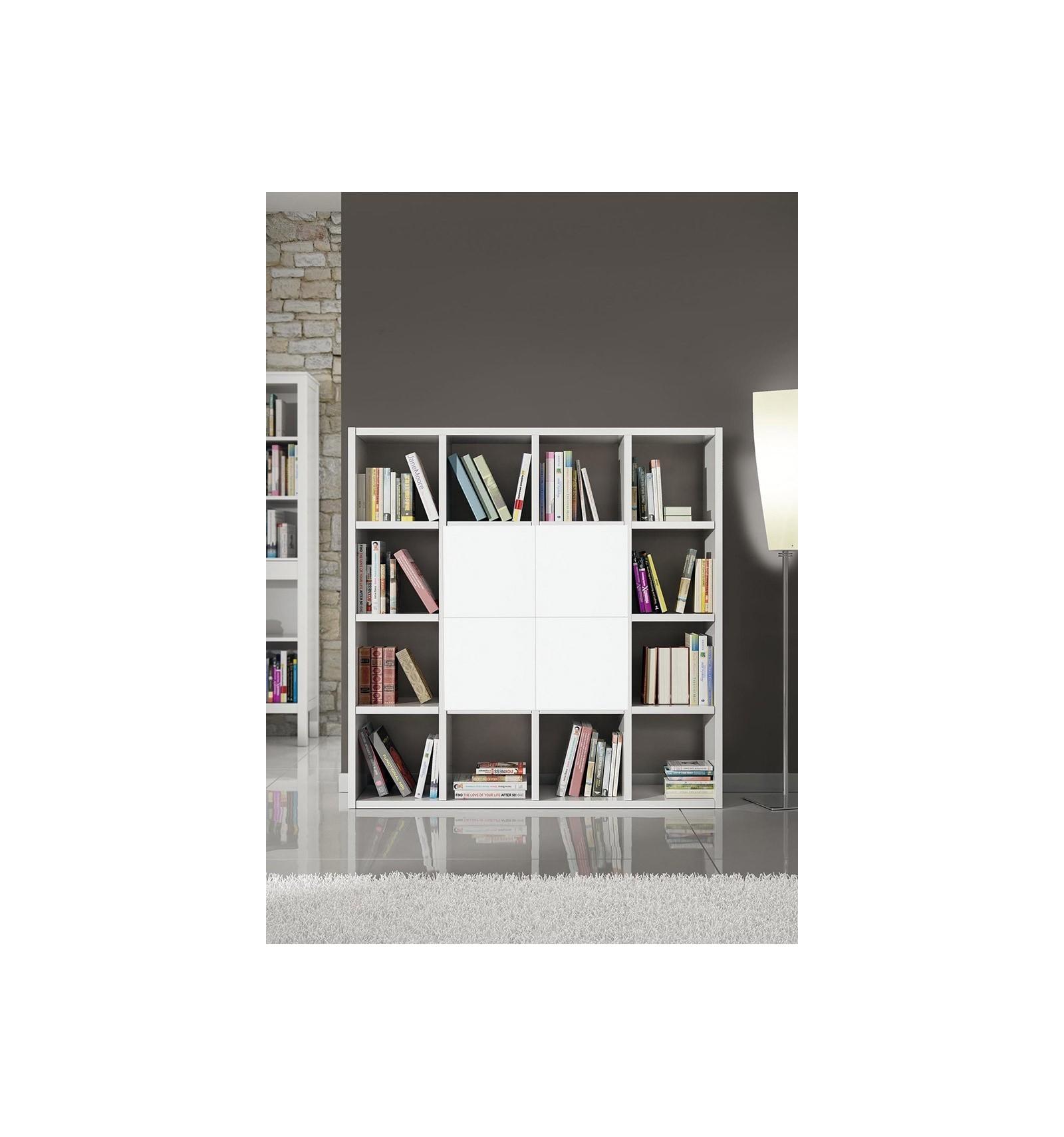 Libreria moderna bianco frassinato w568 m lo scrigno for Mobili settimanali moderni