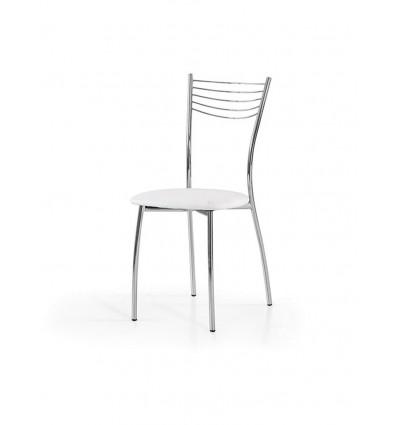 Set 6 Sedie Moderne in metallo Sedia Cucina Sala Soggiorno W610/M ...