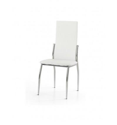 Set 4 Sedie Moderne in metallo Sedia Cucina Sala Soggiorno W620/M