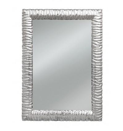 Specchiera rettangolare Moderna colore argento W631/M