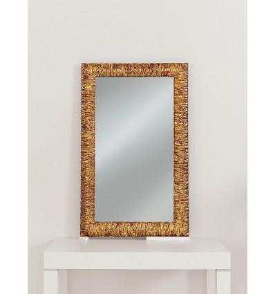 Specchiera rettangolare Moderna colore oro W629/M
